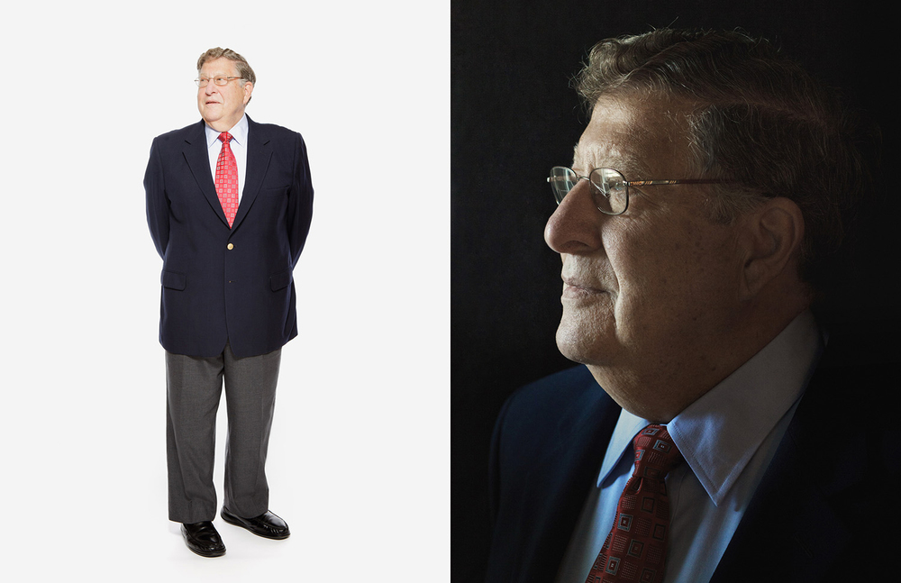 Governor John Sununu photographed by Adam DeTour