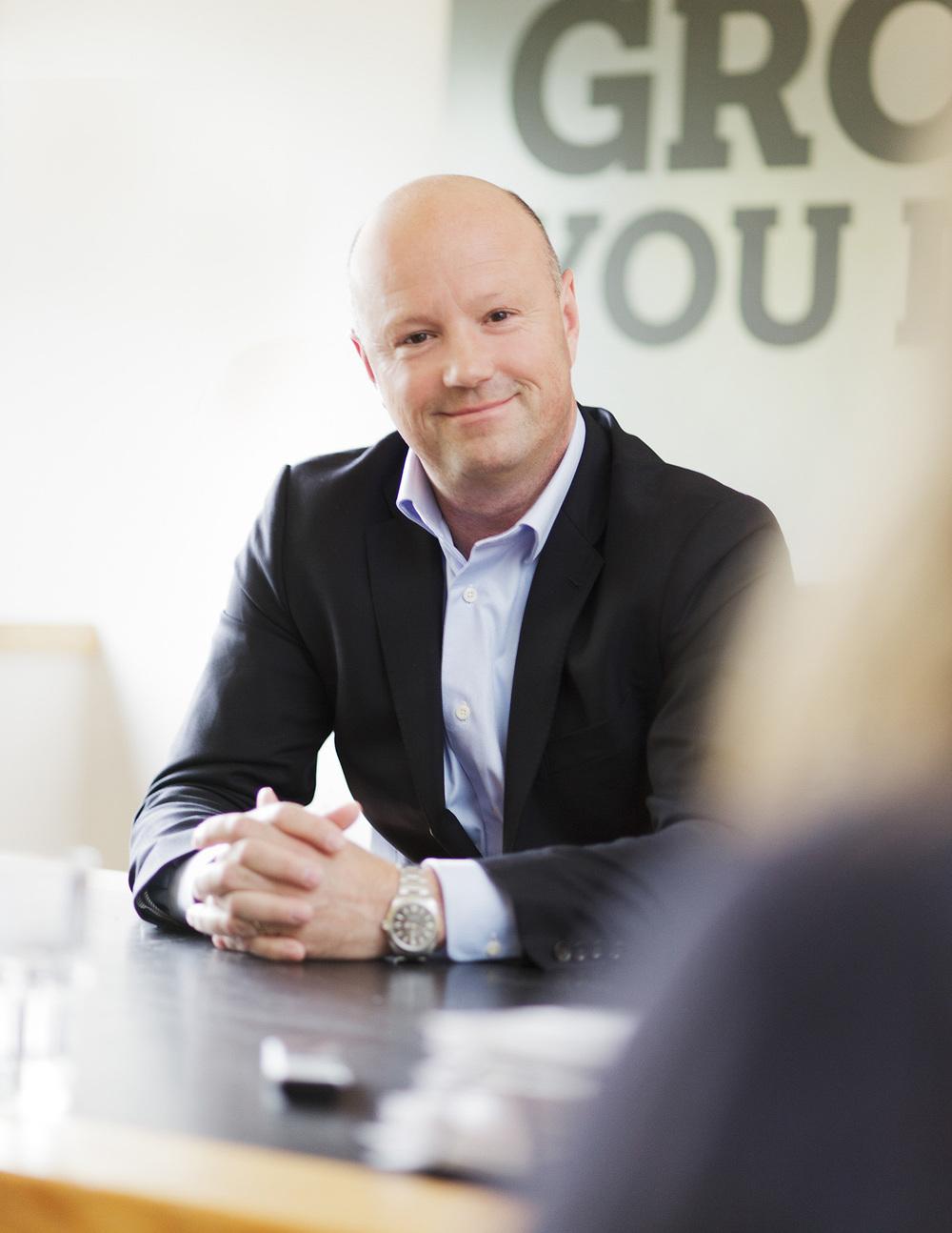 Timberland CEO Patrick Frisk