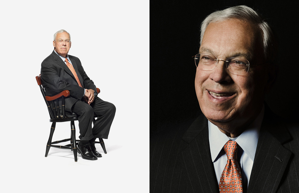 Mayor Thomas Menino photographed by Adam DeTour