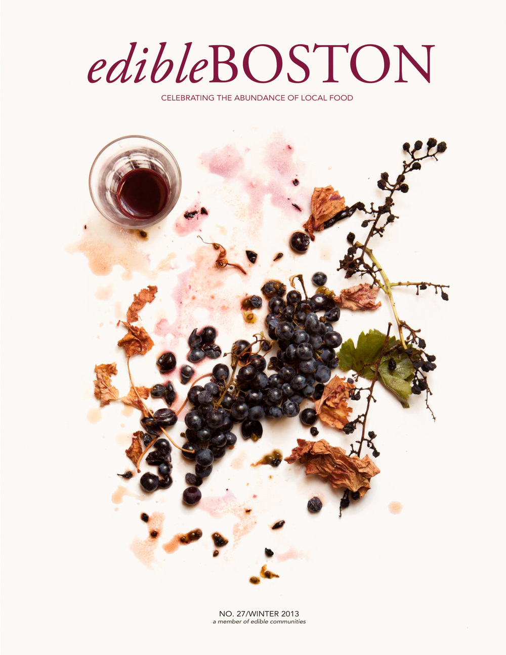 Edible Boston Cover photographed by Adam DeTour