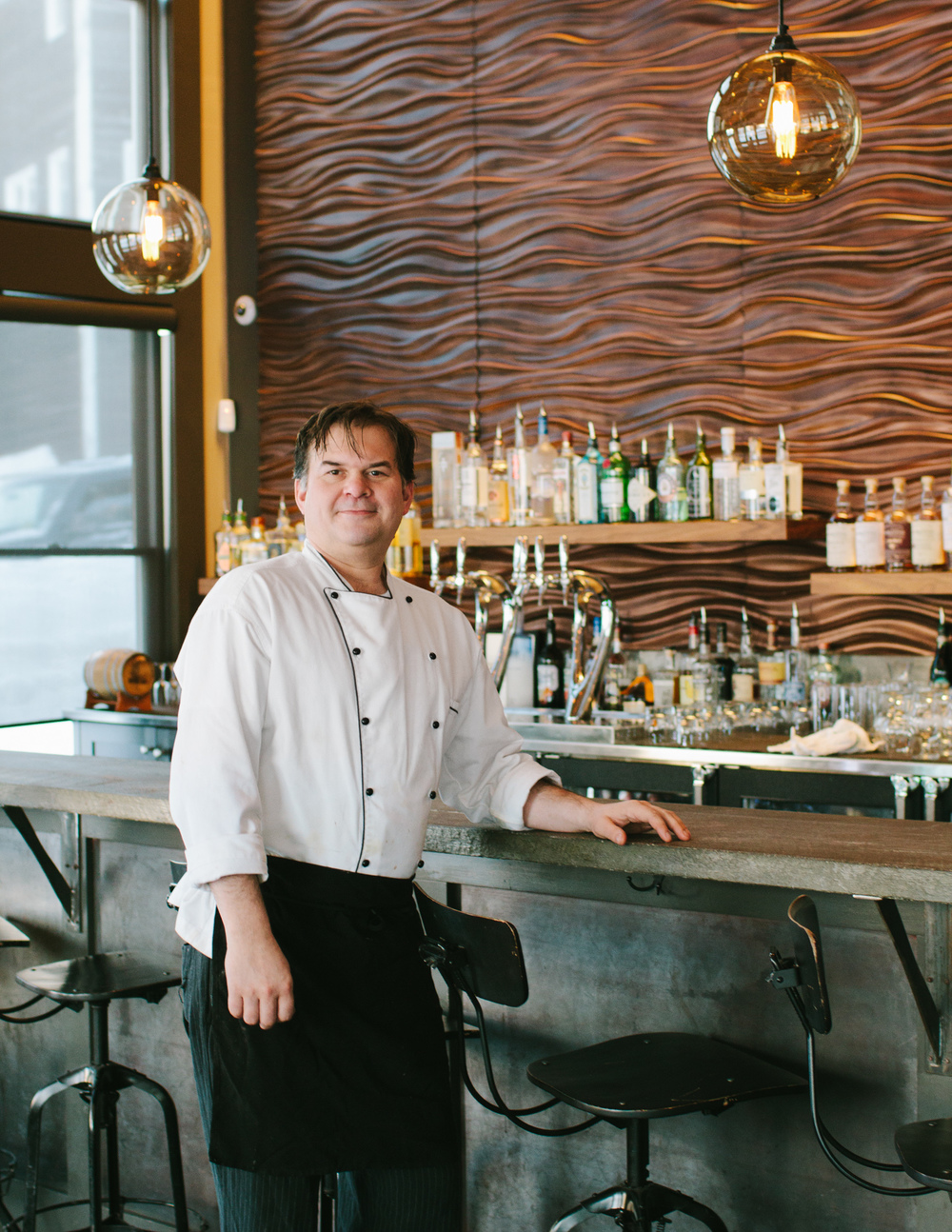 Executive Chef Jonathan Dexter of Outliers Eatery