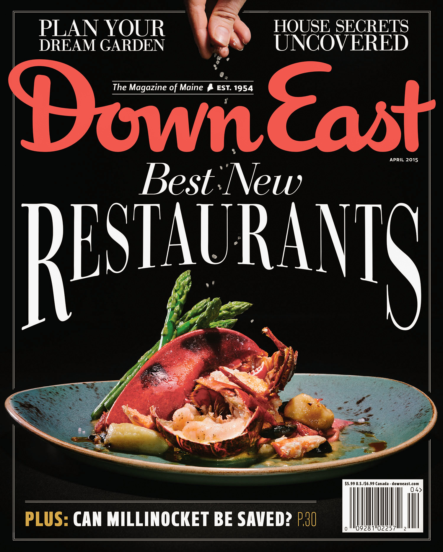 DownEast Magazine: Best Restaurants - Adam DeTour Photography