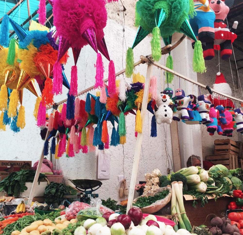 Mercado Juarez has the best meals and piñatas pesos can by! Photo by Patty Delgado.