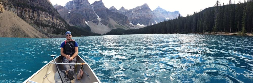 Canoeing Lake Morraine