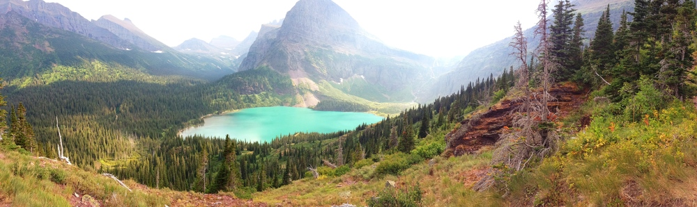 Grinnell Glacier Hike, the most beautiful hike I've been on to date