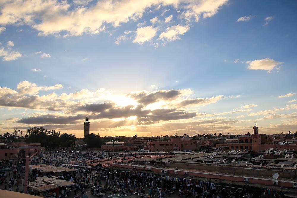 Old Town Marrakesh Souk (Marketplace)