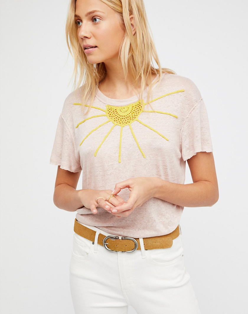 Free People Crochet Top