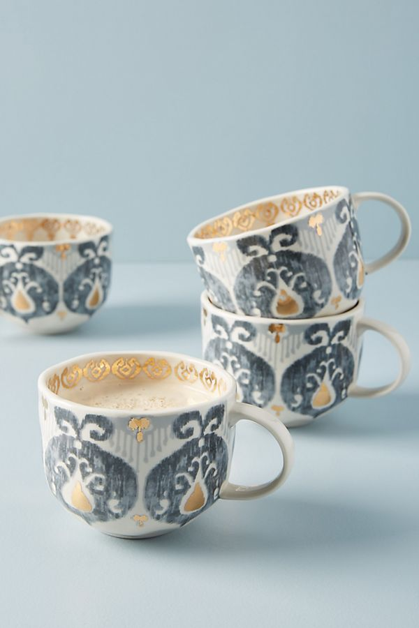 TANJA MUGS, SET OF 4, $56