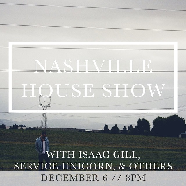 Should be a rad time! The address  is in the Facebook event page (Fbook.com/jaredevers).     If you don't subscribe to that tomfoolery, I'll lay it out here. This is for you rebels off the grid.     600 Hamilton Ave  Nashville TN 37203