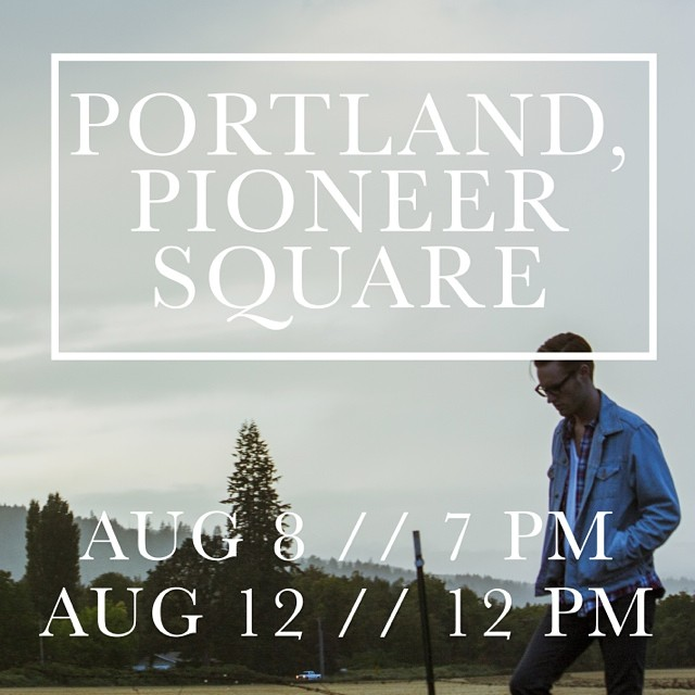 2 upcoming dates in Portland! Hope you guys can hang out! The link in my profile has more info.