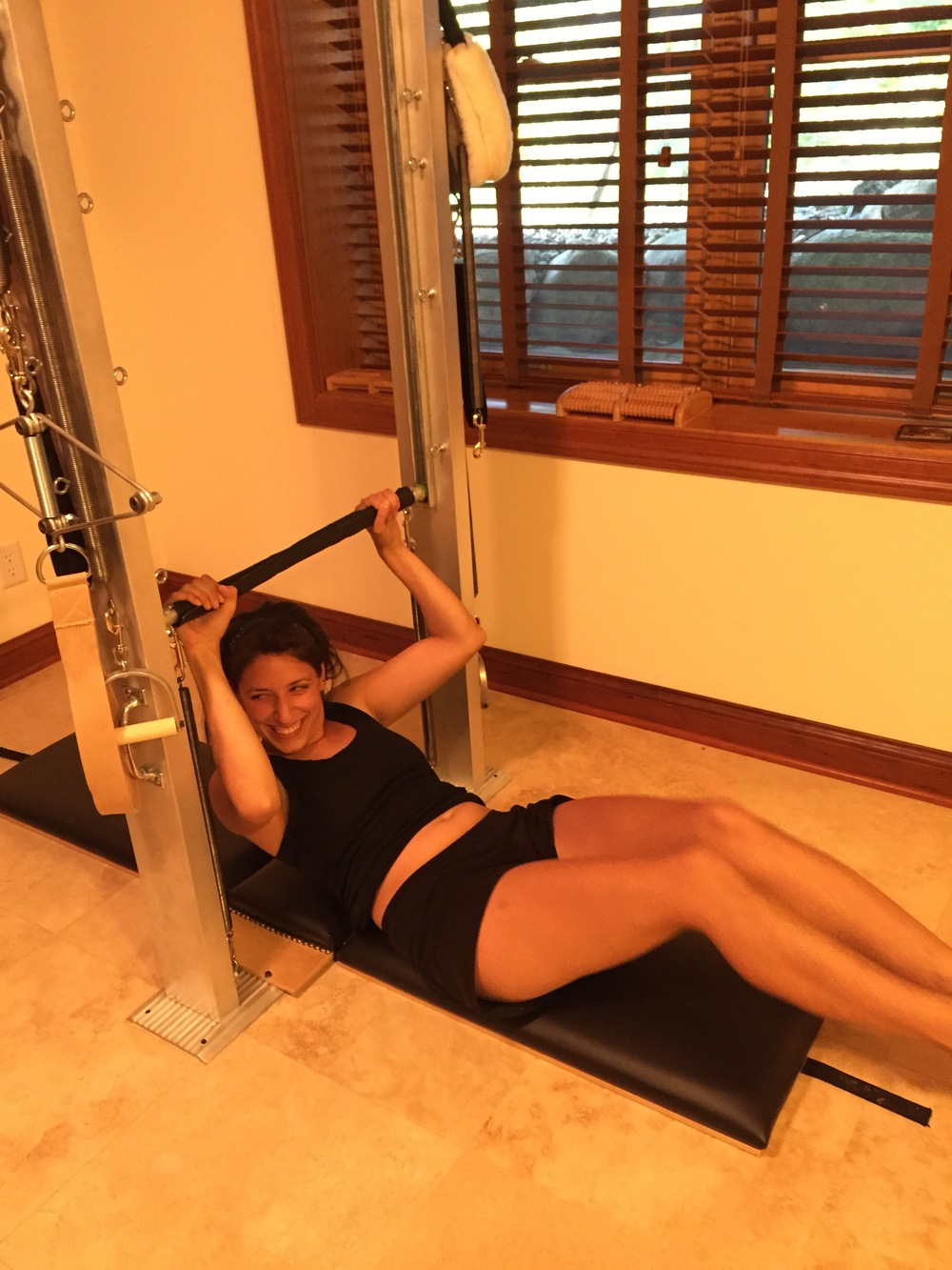 Having fun at Mogo Pilates