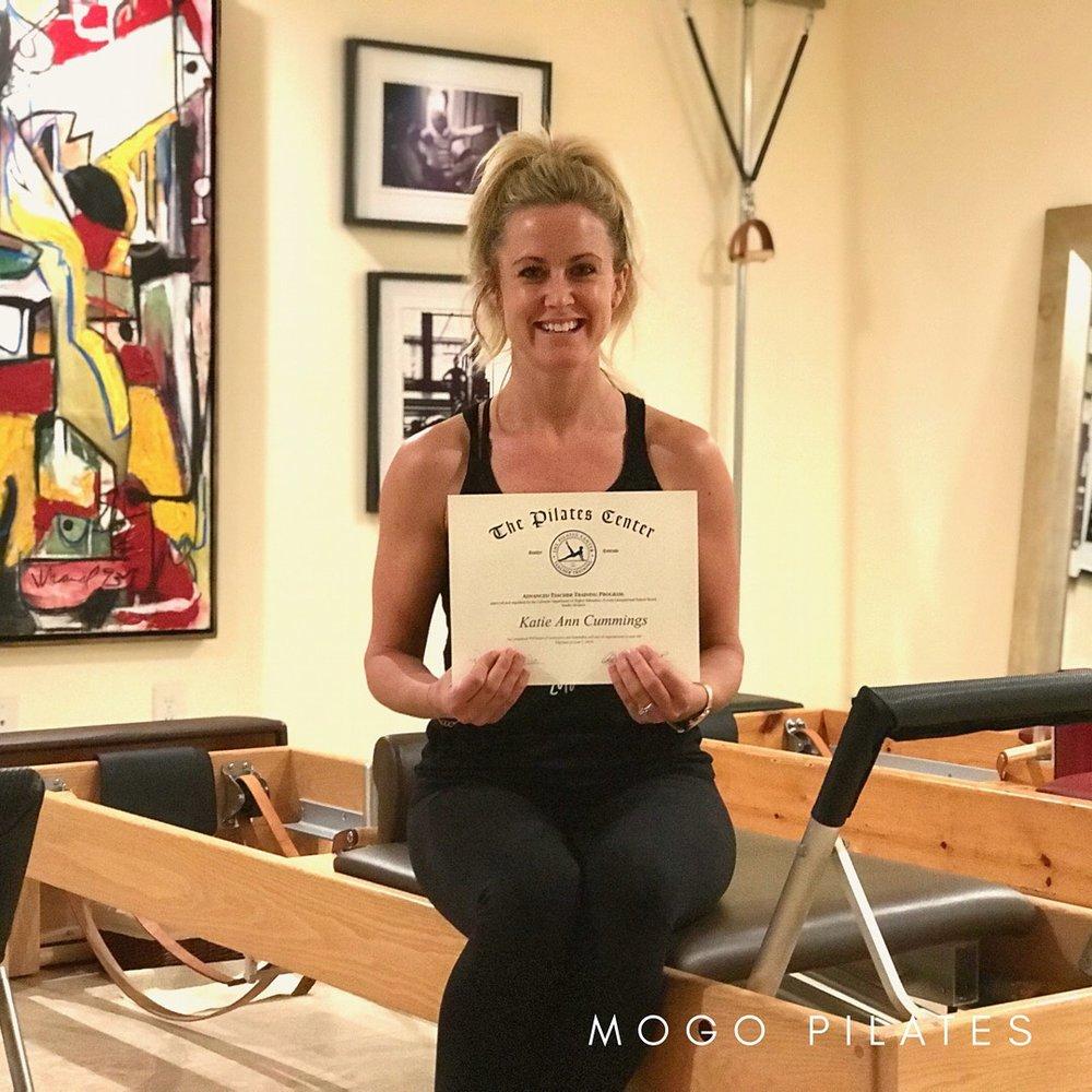 Katie Cummings Pilates Teacher
