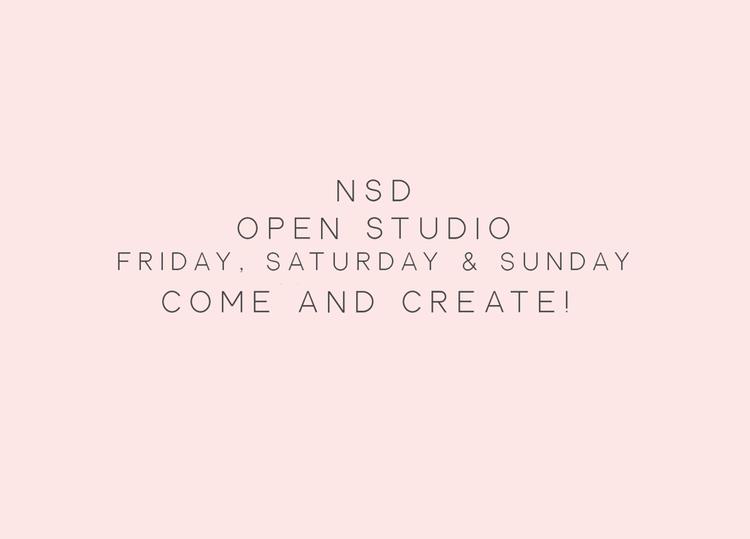 National Scrapbook Day Weekend Open Studio Frank Garcia Studio