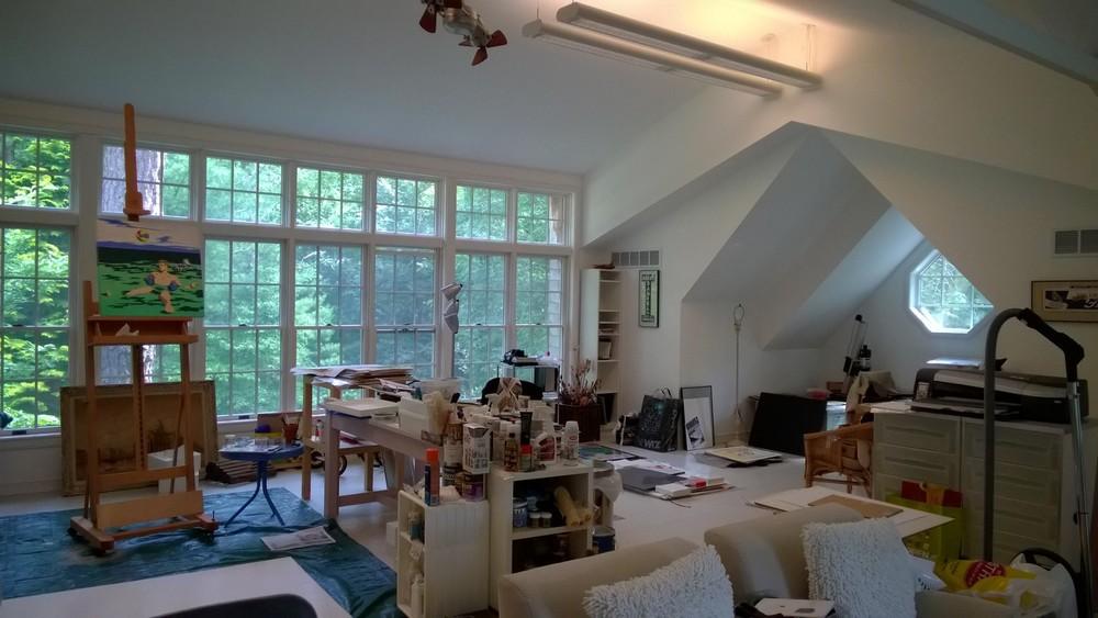 Figure   1  : My father's studio