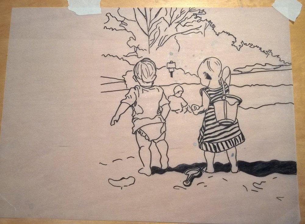 Tracing sketch