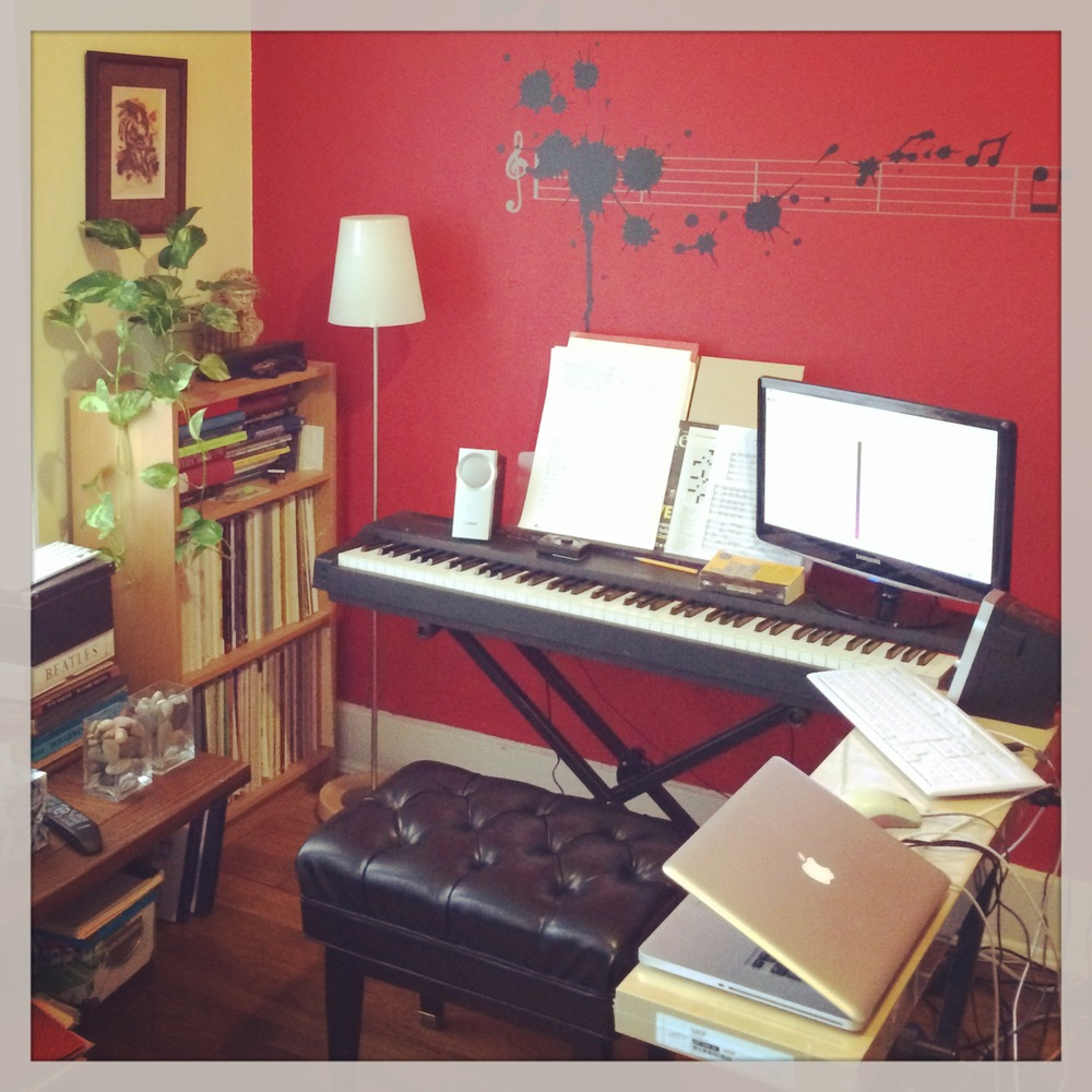 My home studio..