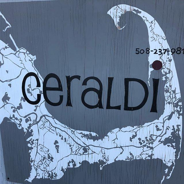 Recalling an extraordinary meal at Ceraldi in Wellfleet, MA