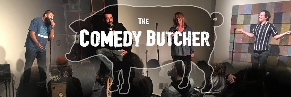 Here's where we write something to make the show sound enticing!  This month:  Nate Burrows   Casey Larwood   Bill Gevirtz   Doors @ 8:00 Show @ 9:00  $10 @ door, $5 pre-sale Tickets:  https://www.eventbrite.com/e/comedy-butcher-november-2017-tickets-39232063157   Check out  comedybutcher.com  for more info!   Comedy (performance)