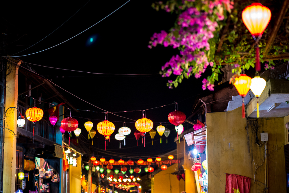 Old Town Hoi An at night. Hoi An, Vietnam