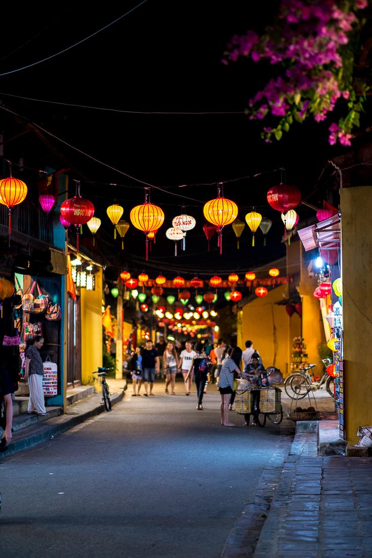 Old Town Hoi An streets. Hoi An, Vietnam