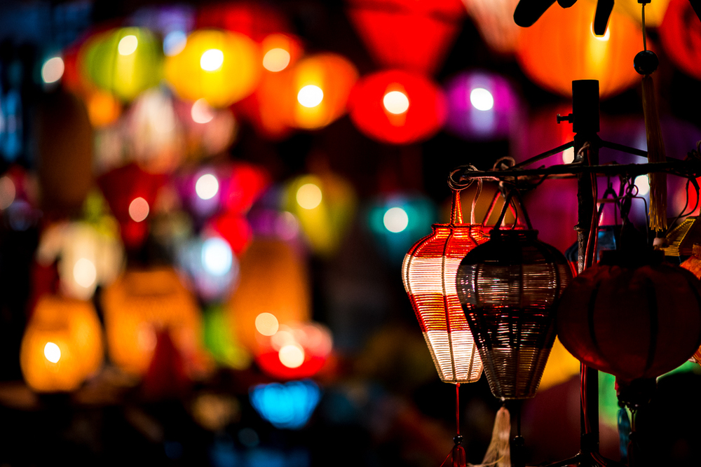 Lanterns for sale. Old Town Hoi An, Vietnam