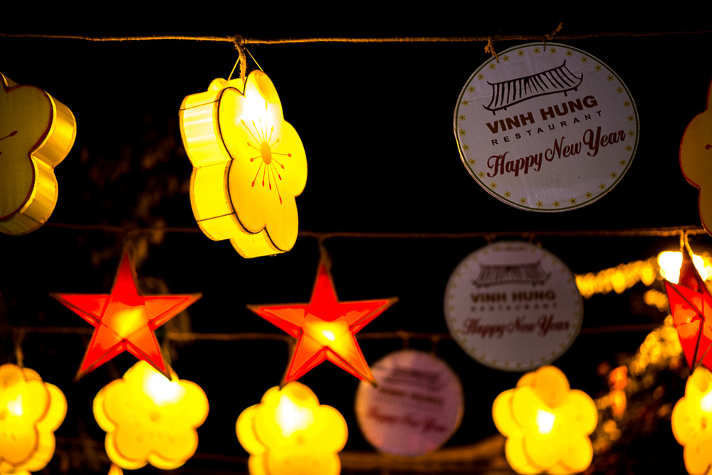 Happy New Year!! Old Town Hoi An, Vietnam