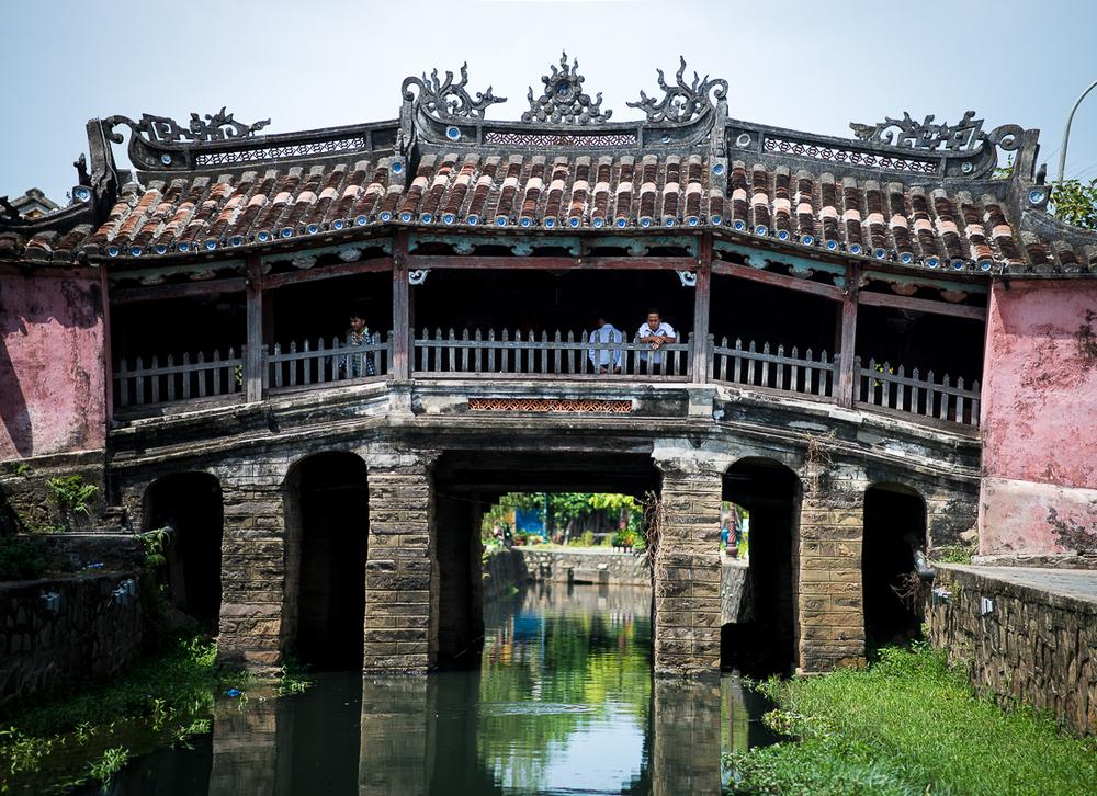Japanese Bridge. Hoi An, Vietnam