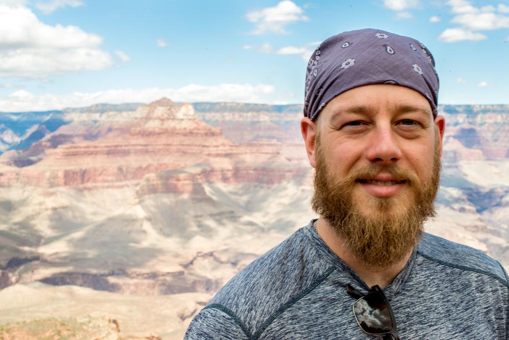 Ben. The Grand Canyon.