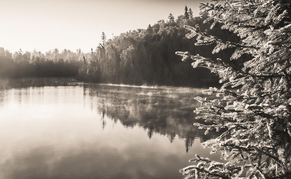 Morning Fog On Crooked Lake...BWCA