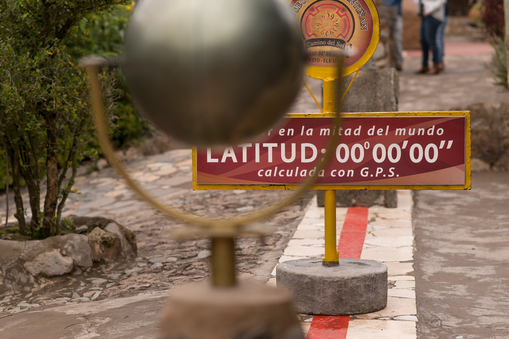 The true equator...