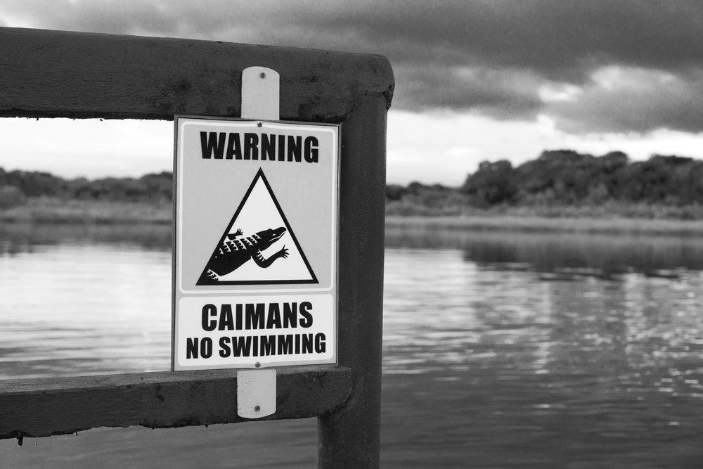 No Swimming!!