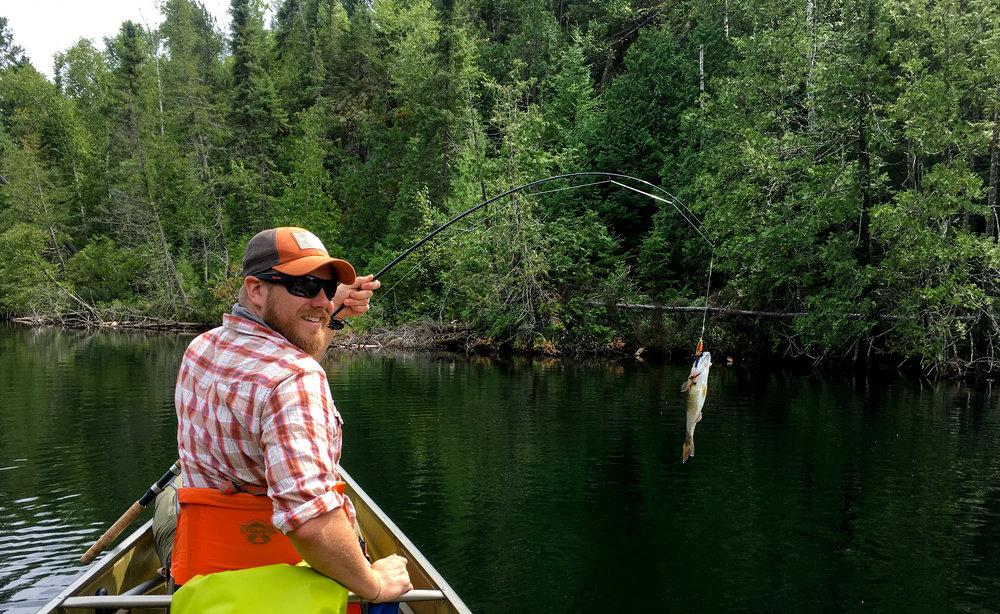 Ben's First Fish...