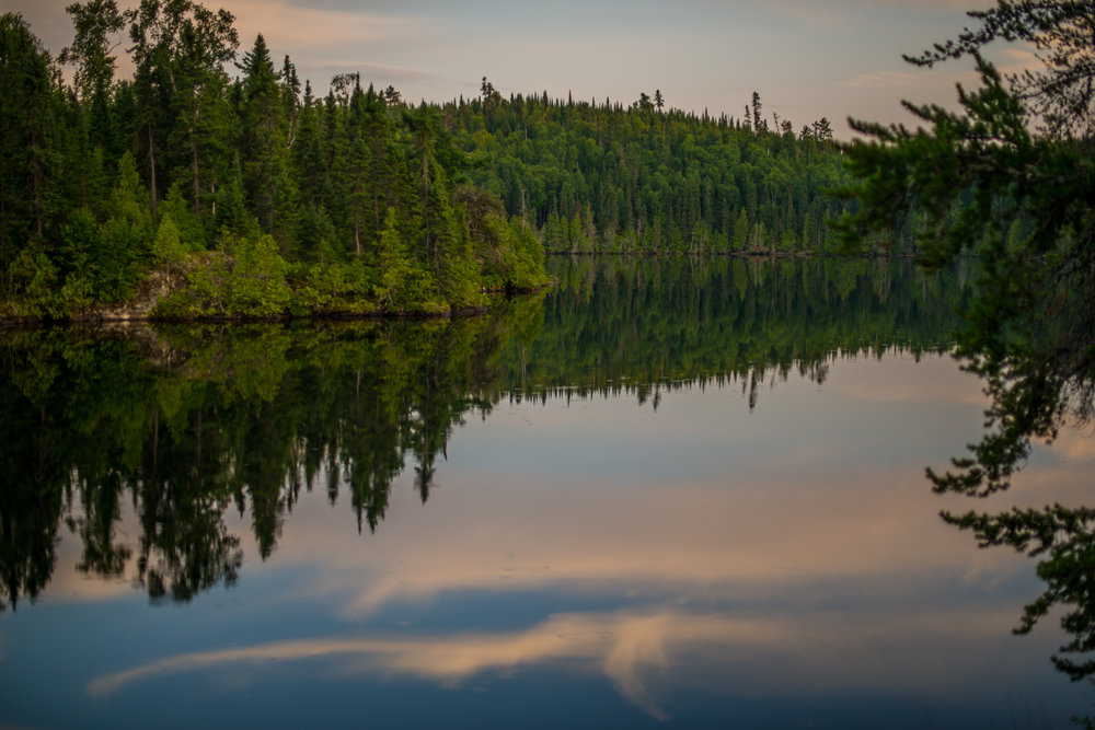 Sunset On Cherry Lake...