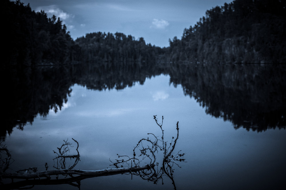 Night Photos On Cherry Lake...