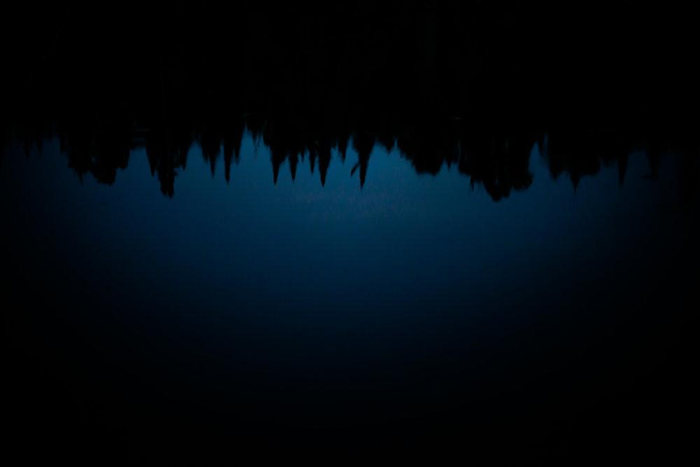 Night Reflections On Cherry Lake...