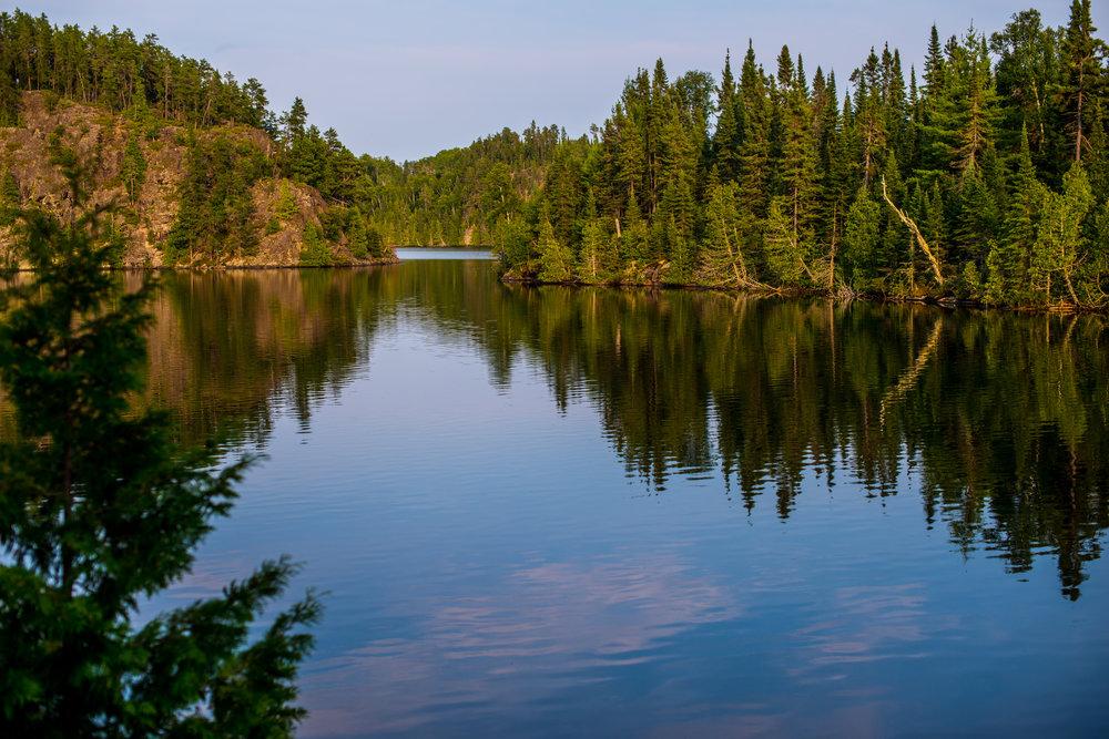 Final Sunset Cherry Lake...