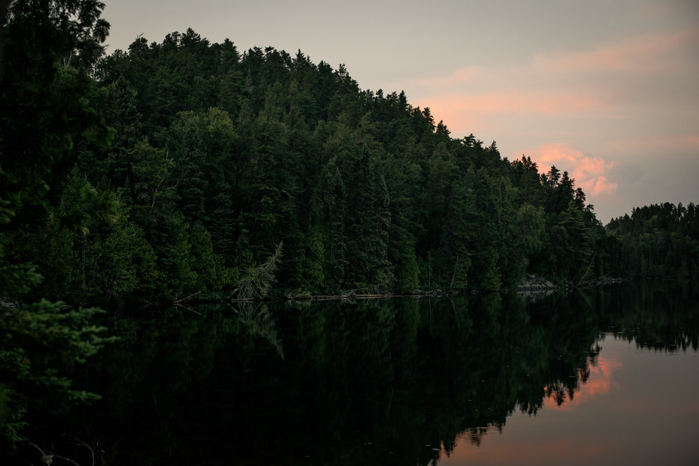 Final Sunset On Cherry Lake...