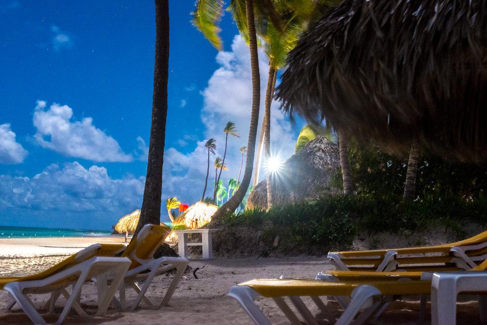 Night Time Beach Photos...