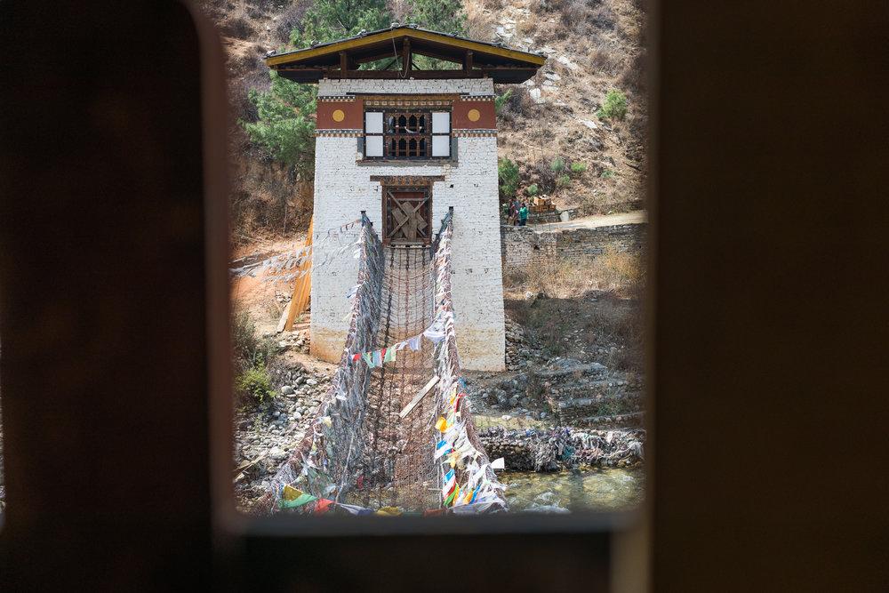 Original bridge dating back to the 1300's