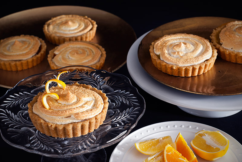 Lemon Meringue Tartlettes | www.breadandbrushstrokes.com