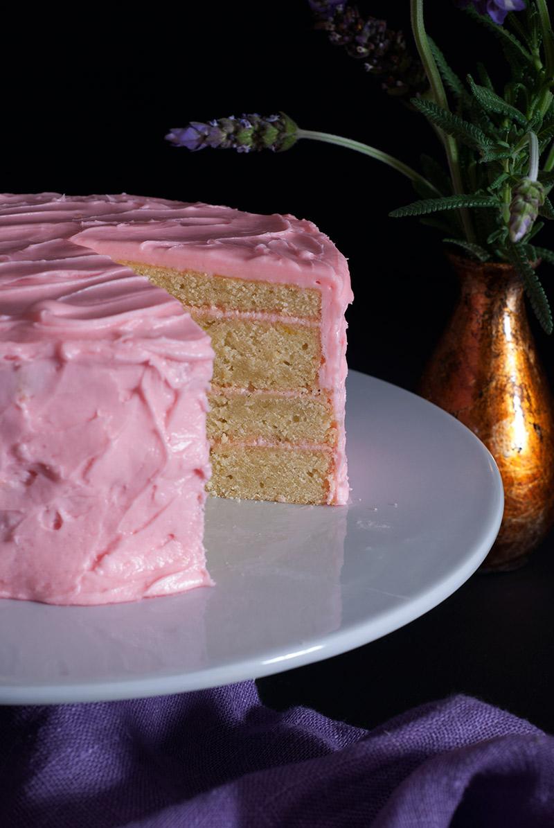 lime cake | breadandbrushstrokes.com
