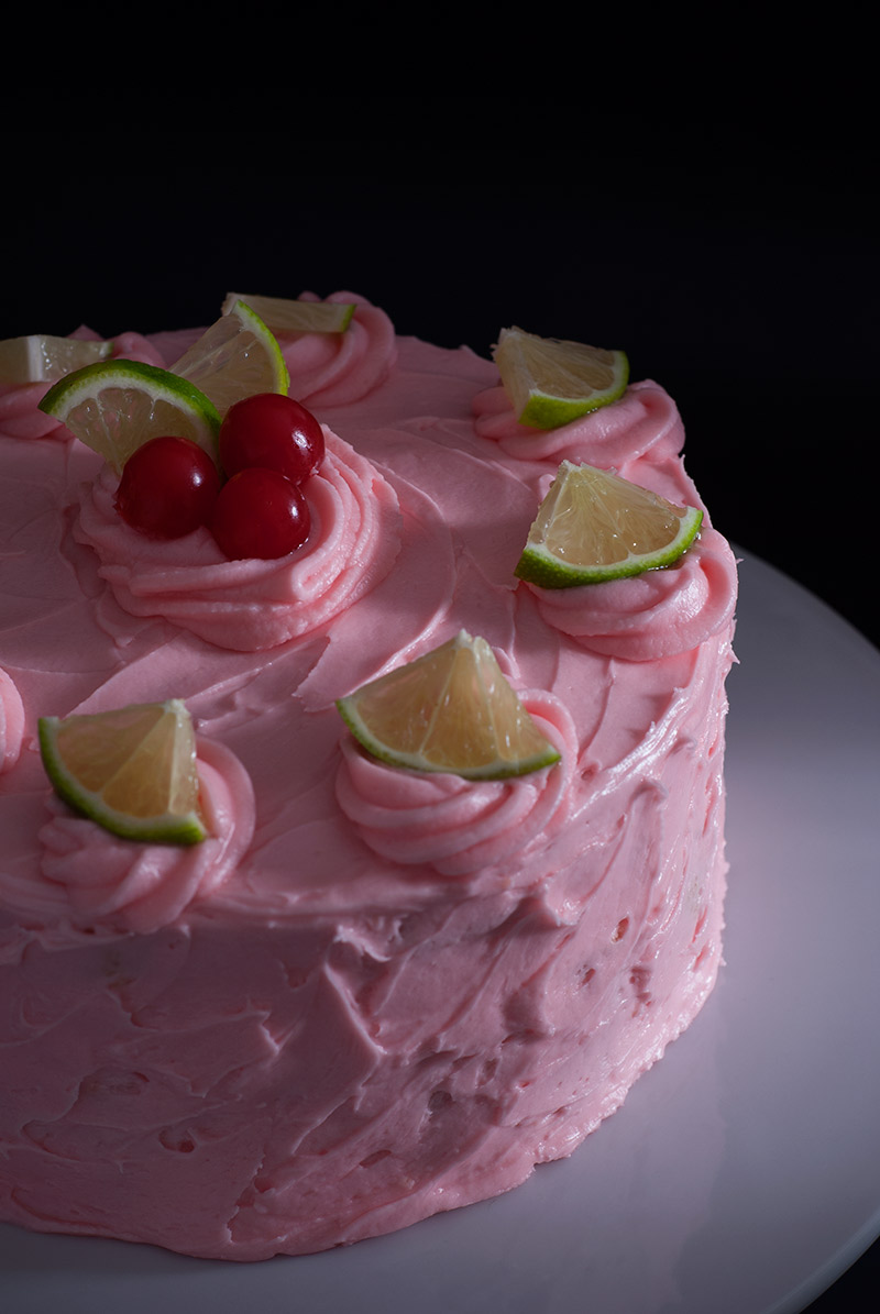 buttermilk lime cake | breadandbrushstrokes.com