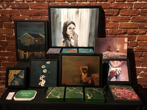 Artwork on display February 2017 at Mission Brewery, San Diego. More details  here .