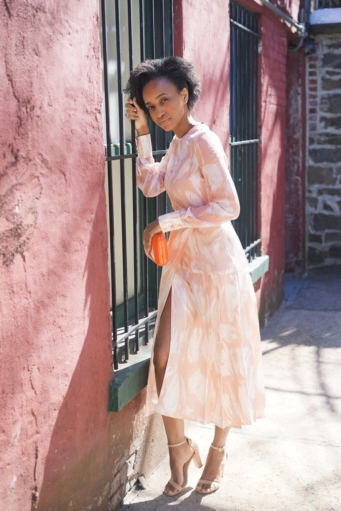 Christine_the_style_d'affaire_yigal_azrouel_designer_bold_printed_heritage_pink_dress_tailoring_sophistication_ease_editorial_aldo_shoes_mood.jpg