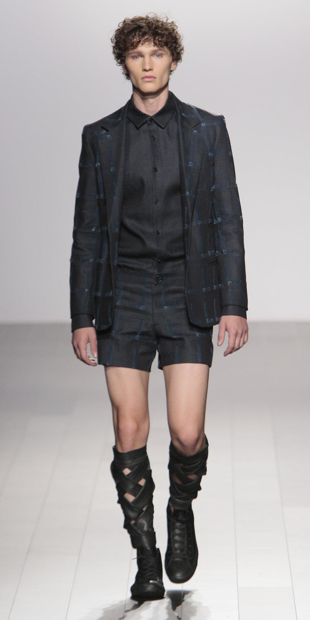 "Eden Slezin -His collection was inspired by his ""life and loves"" for his sustainable menswear collection"