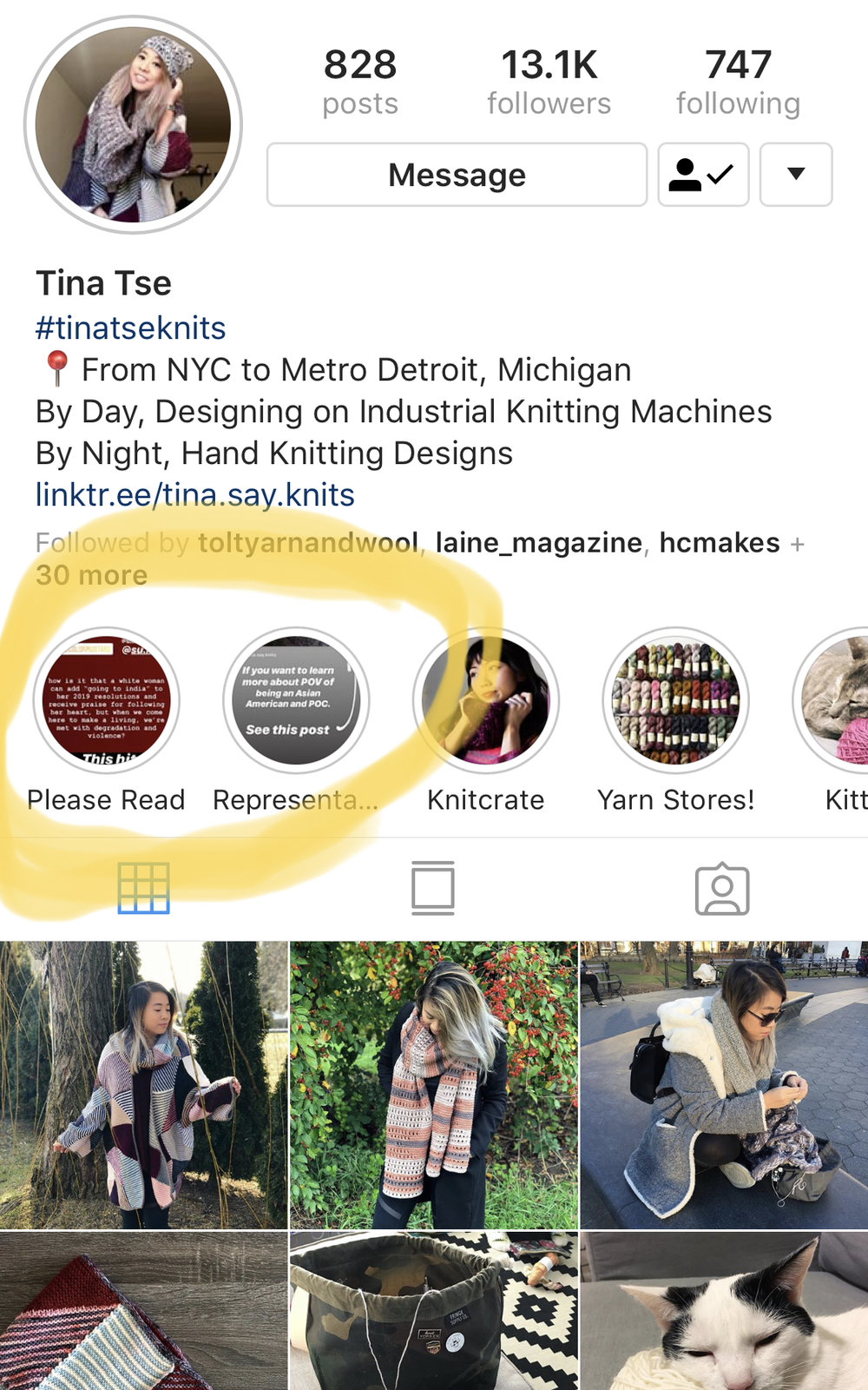 @ tina.say.knits  /  Ko-fi