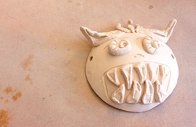 "Our ""Clay for a Day"" kid's class always has a monster of a time in the studio! There's still space left for this Saturday's class!"