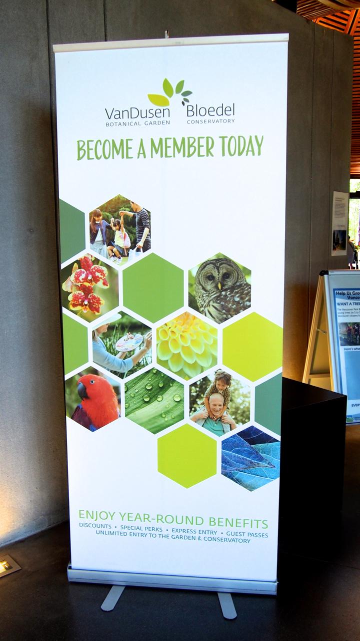 Stand up Banner:  VBGA Membership