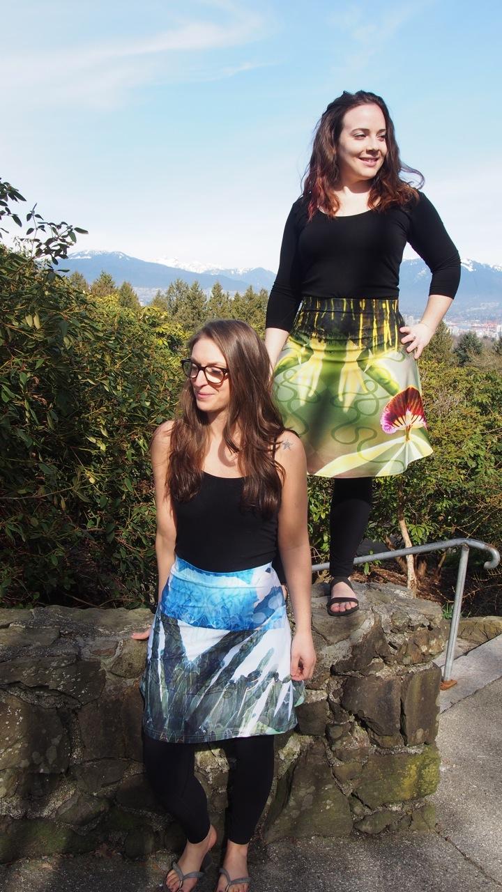 Flare skirt styles