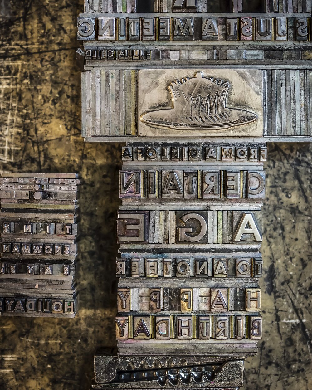 Letterpress Master Class - 4 hour, one day class. $200.00Bremelo Press, Seattle, Washington